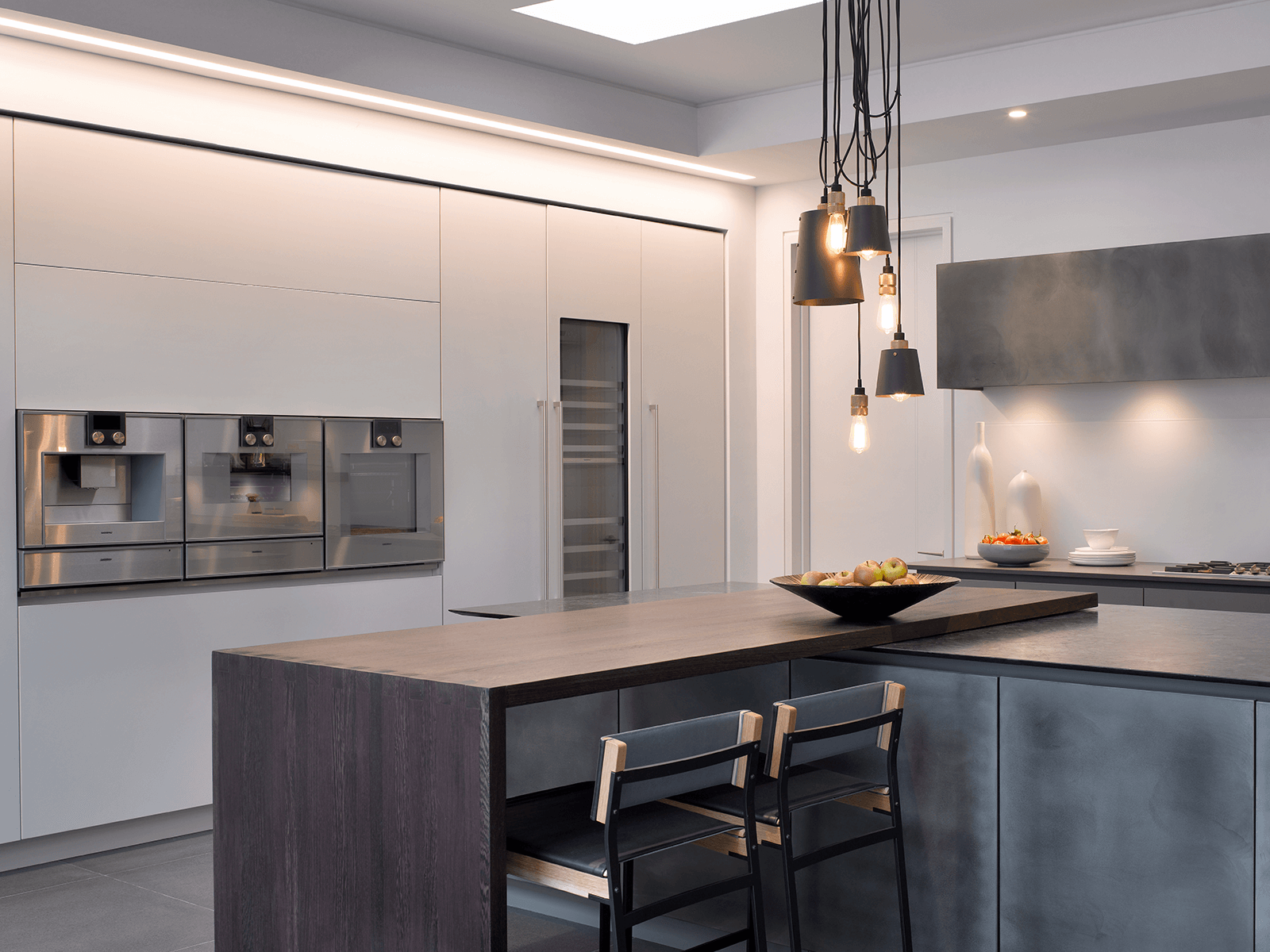 Redgrave A Modern Stone Wood Metallic Kitchen From Roundhouse