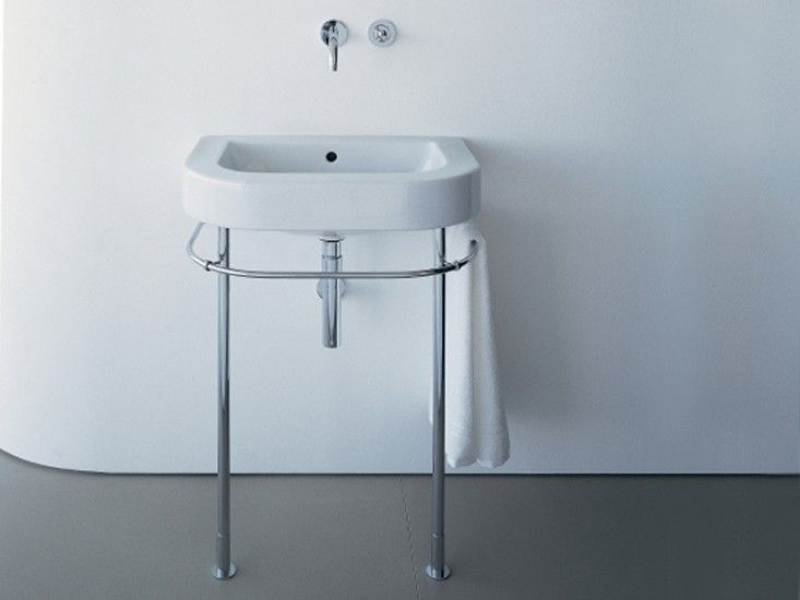 Designed by Philippe Starck for Duravit, the Happy D Washbasin - happy d badezimmer