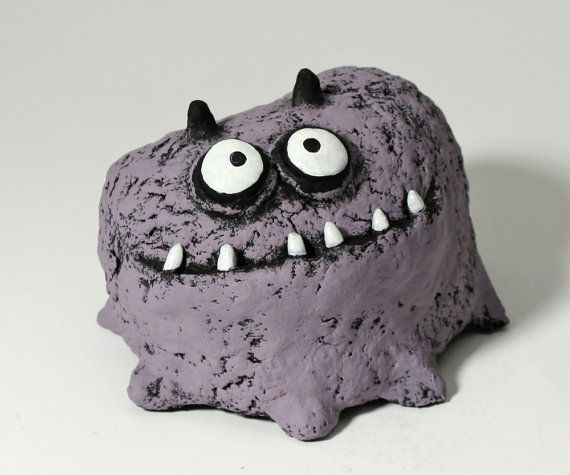 kids room decoration EDNA the Pet Lump by blobhouse on Etsy, $70.00