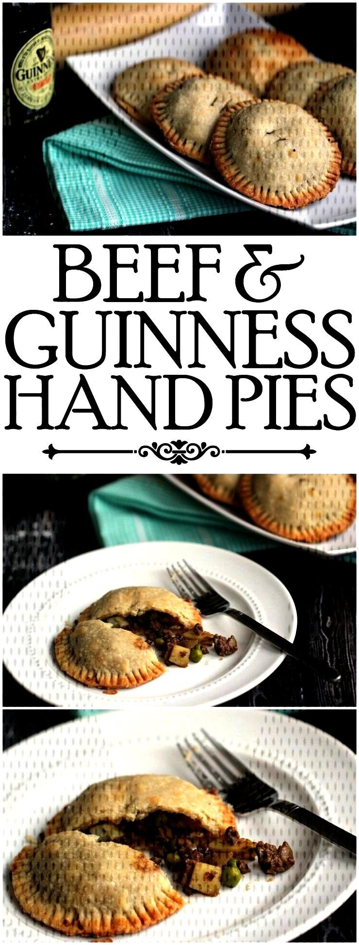 and Guinness Hand Pies are a great St. Patricks Day Recipe your family will love eating for dinner