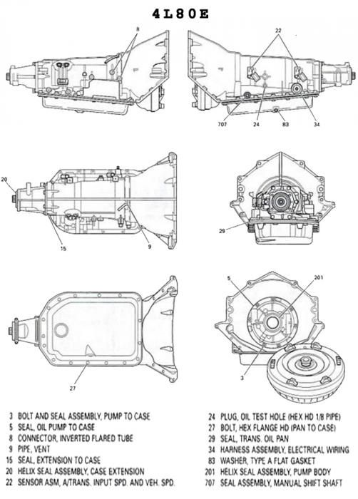 Pin By Jeremy Rayman On Automotive Chevy Transmission