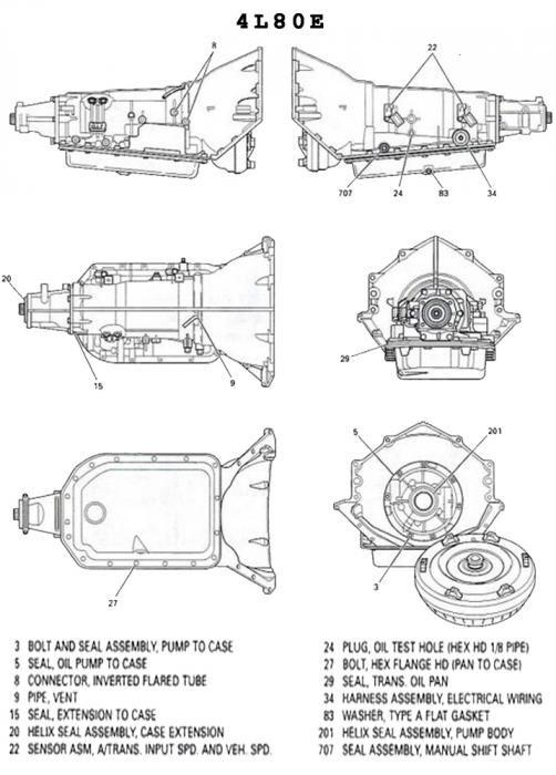 [DIAGRAM] Gm Turbo 350 Transmission Diagram