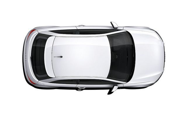 Audi A1 Roof Dome Car Top View Photoshop Rendering Photoshop
