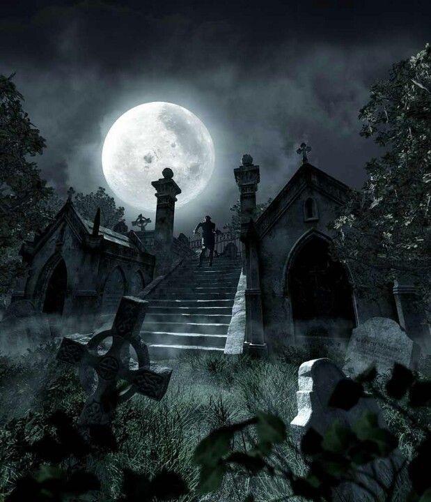 creepy おしゃれまとめの人気アイデア pinterest richard overbay ゴシックホラー 墓地 ファンタジーな風景