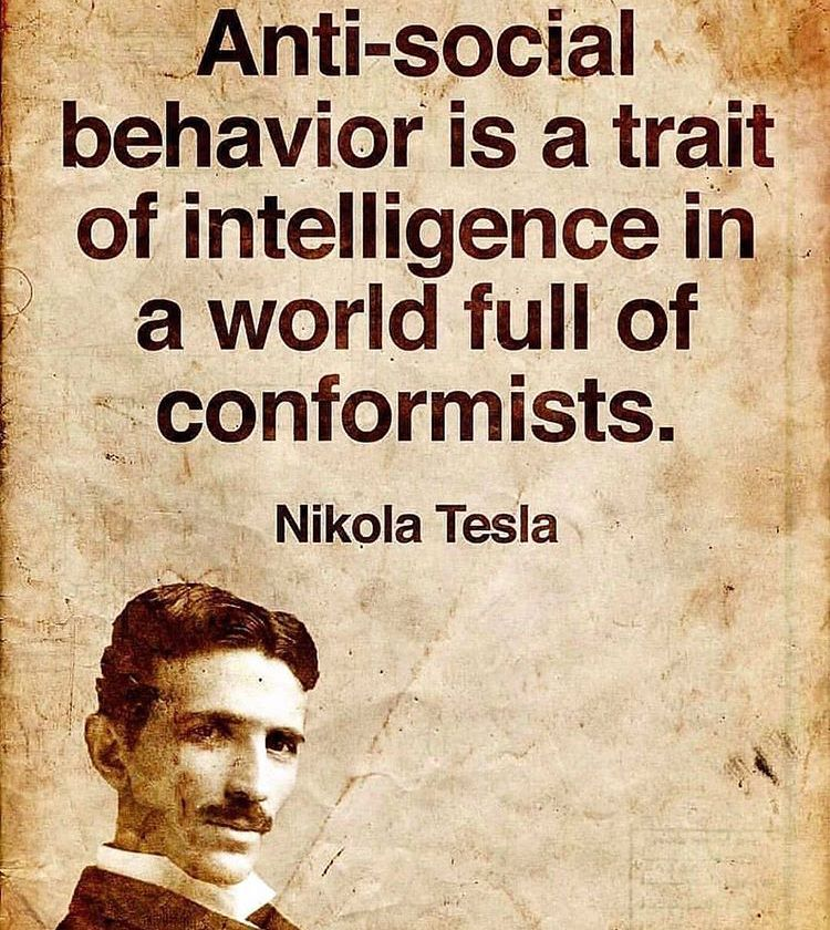 Quotes by the mathematician Nikola Tesla. in 2020