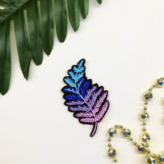 Crystal Gem Stone Pastel Magic Embroidered Iron On or Sew On Patch DIY