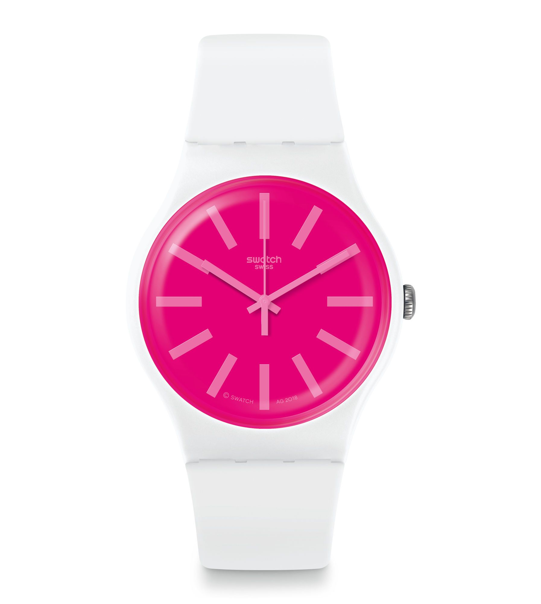 Swatch United States New Gent O 41 Mm Strawbeon Suow162 Swatch Watch Swatch Swatch Store