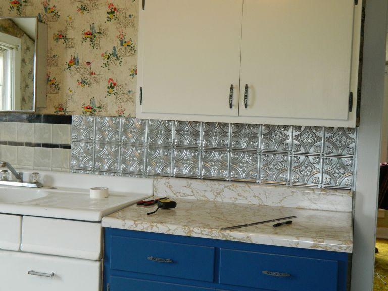 1950s Kitchen Remodel 1960s Kitchen Remodel 1970s Kitchen Remodel 70s Kitchen Re In 2020 Inexpensive Kitchen Remodel Home Depot Backsplash Kitchen Tiles Backsplash