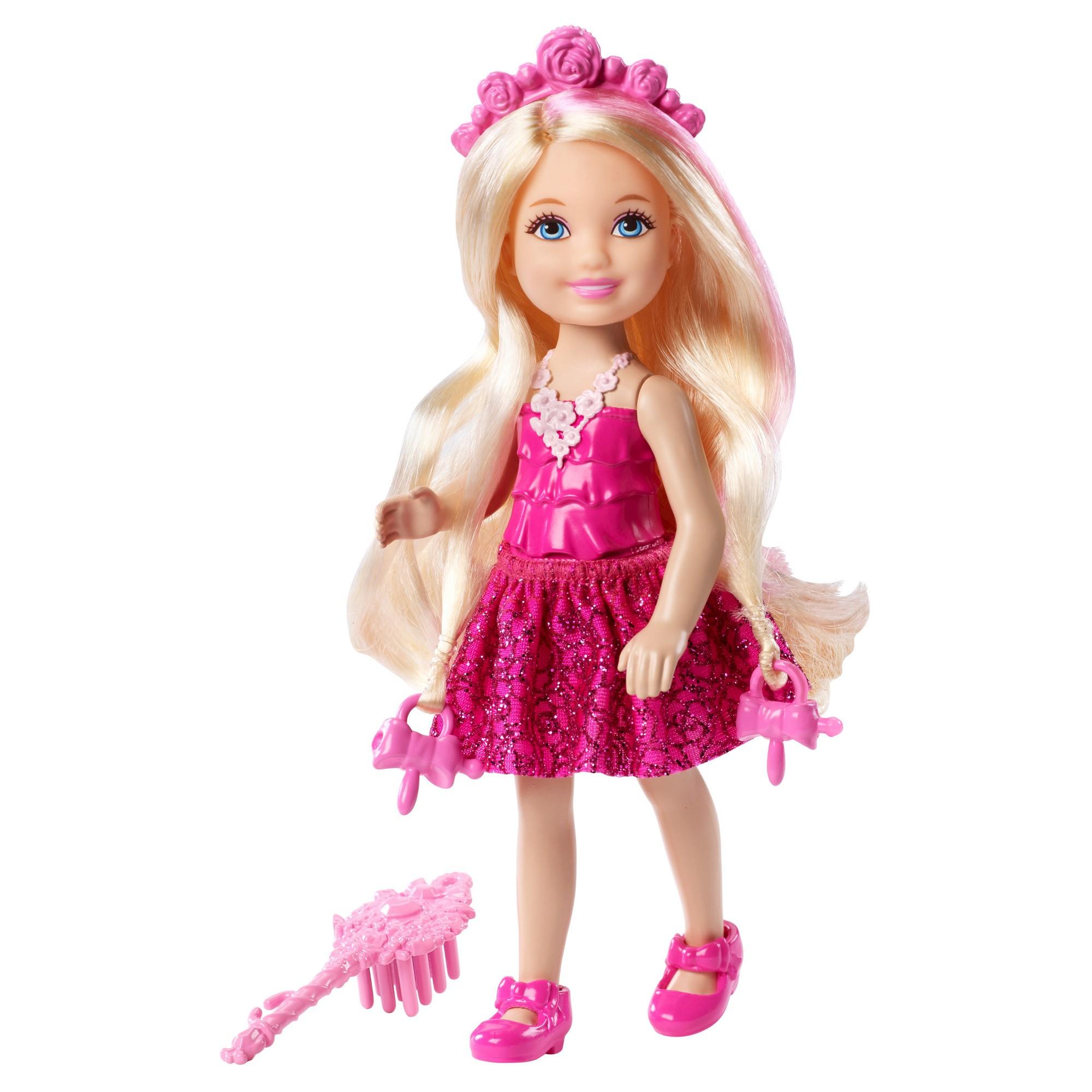 Barbie Endless Hair Kingdom Princess Doll Pink Free Shipping