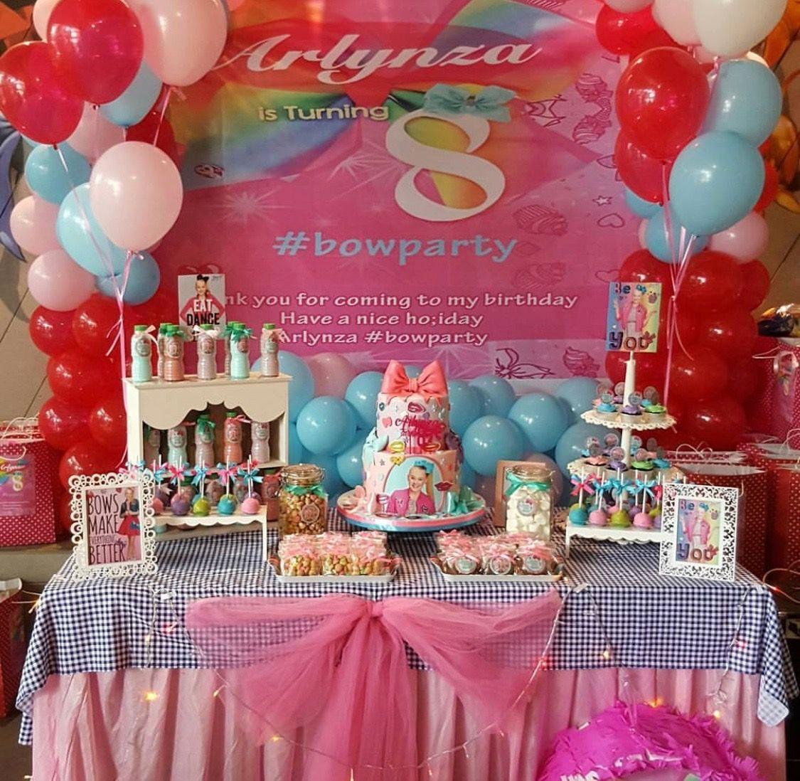 Jojo Siwa Birthday Party Jojo Siwa Party Pinterest
