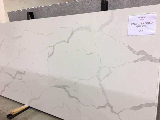 Glacier White Granite Kitchen