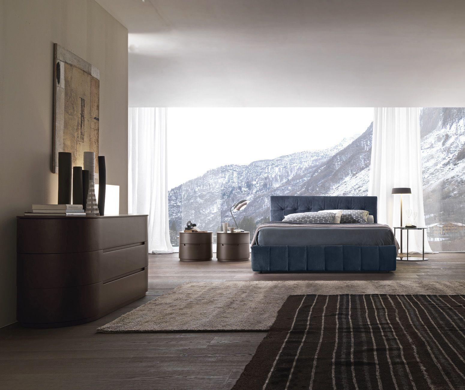 Dado Capitone Bed Upholstered With Suede Presotto Bedroom Lettodado Homedecor Biancheria Da Letto Moderna Camera Da Letto Moderna Idee Letto
