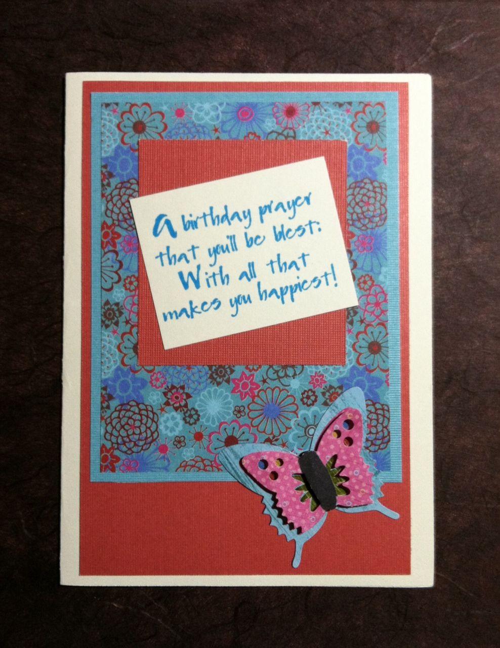 One Sheet Wonder - feminine card