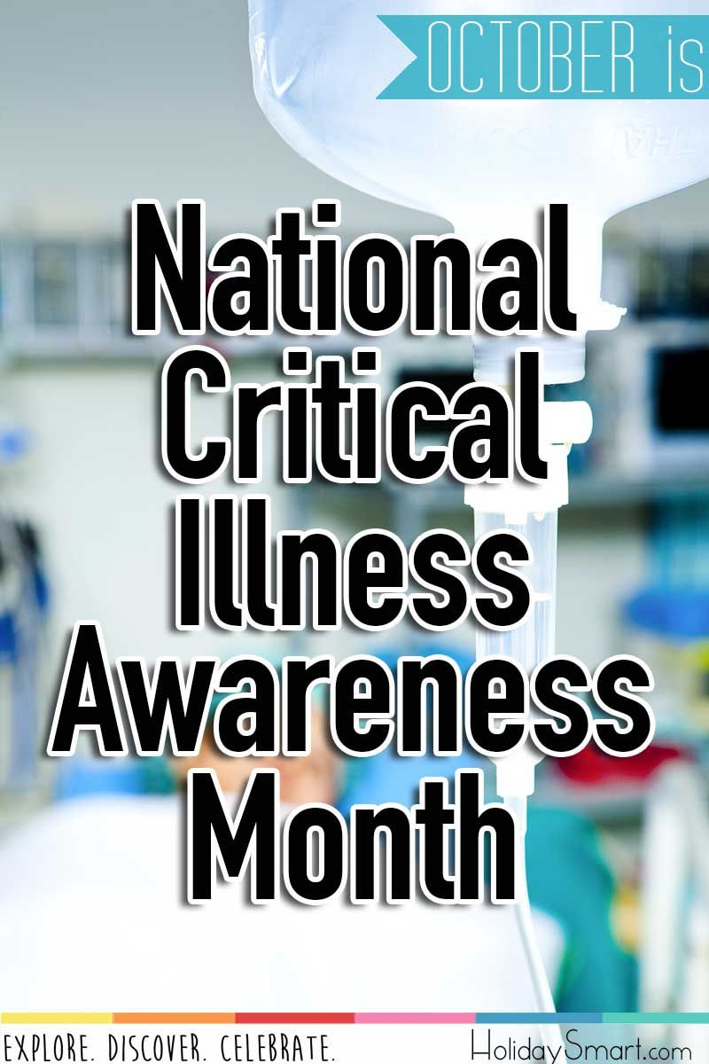 October is National Critical Illness Awareness Month