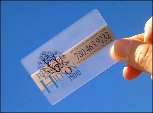 Rj hidsons photography business card is a clear acrylic card thats rj hidsons photography business card is a clear acrylic card thats clean and simple colourmoves Image collections