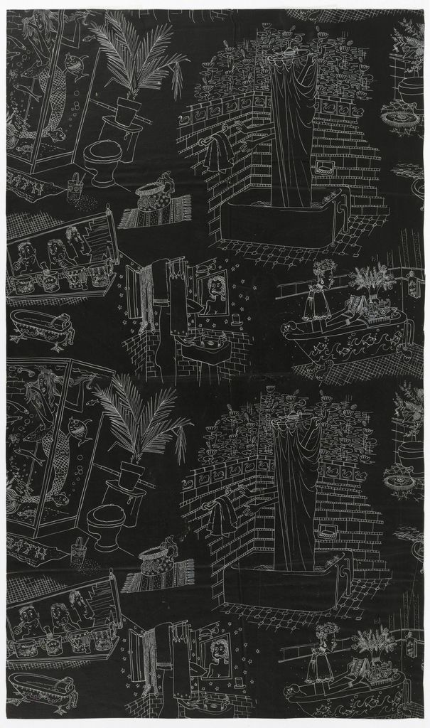 Has Anyone Seen Bertha Cooper Hewitt Smithsonian Design Museum Graphic Minimalist Novelty Wallpaper Design Museum