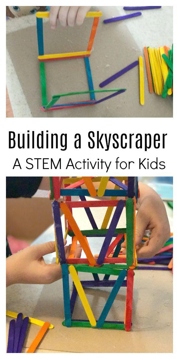 Skyscraper Day Building Activity   School age activities ...