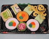 Baby Shower Sushi Gift  - New Baby Neutral Gift - Seafood Duo (Is this not the cutest idea ever)