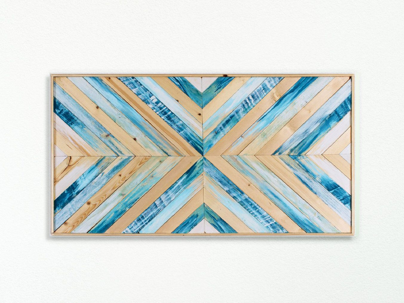 Beach Wood Wall Art Wood Wall Art Large Wall Art Wooden Wall