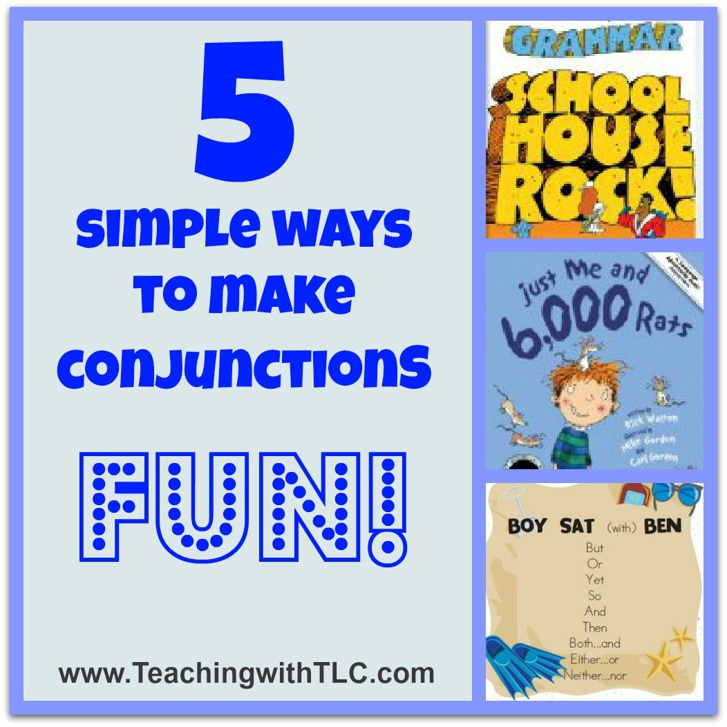 Fun Ways To Teach The Parts Of Speech