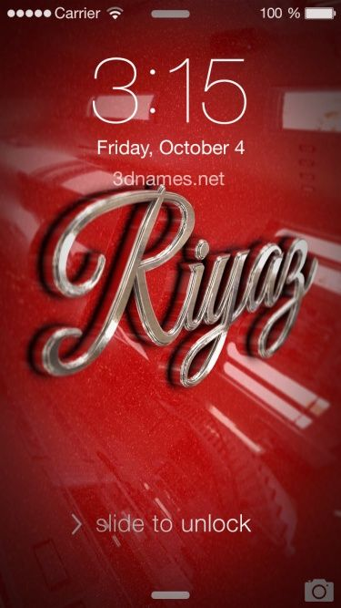 Preview Of Car Paint For Name Riyaz Wallpaper Downloads Name Wallpaper Love Letters
