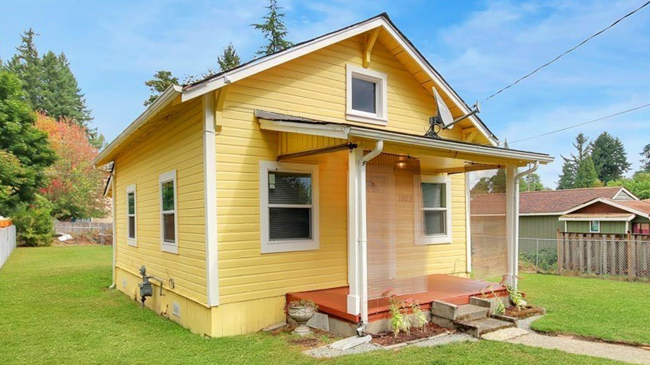 Tiny Home In Olympia Wa Originally Built In 1928 With