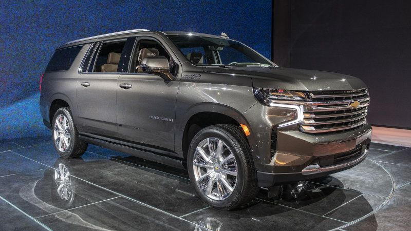 2021 Chevrolet Suburban Starts At 52 995 No Change From 2020 In