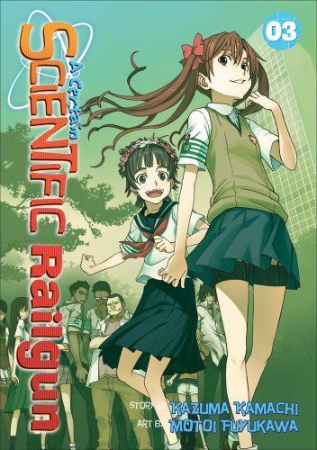 A Certain Scientific Railgun 3 by Kazuma Kamachi. $9.59. Author: Kazuma Kamachi. Reading level: Ages 13 and up. Publisher: Seven Seas; First Edition edition (February 14, 2012). Series - Certain Scientific Railgun (Book 3)