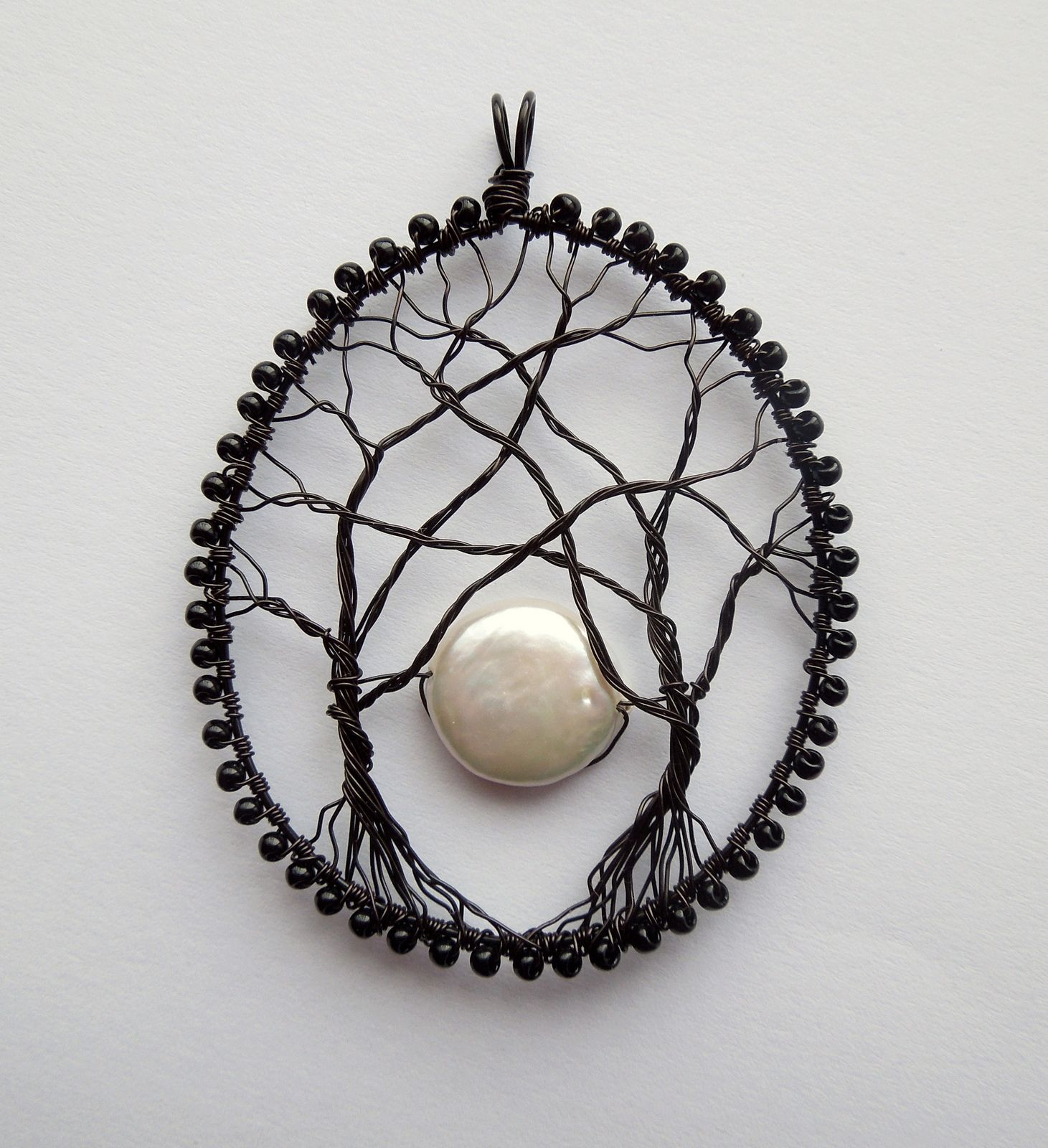 Moonrise (sold) | Craft, Wire wrapping and Jewelry ideas