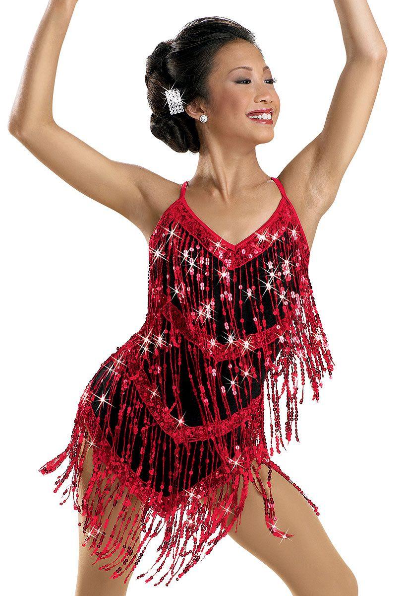 2a0b99ebc Sequin Fringe Camisole Dress  Weissman Costumes