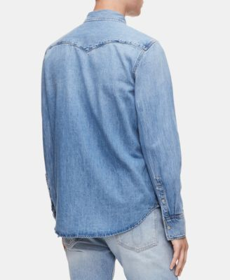 89c9c1fb Men's Foundation Western Shirt | Products | Calvin klein jeans ...