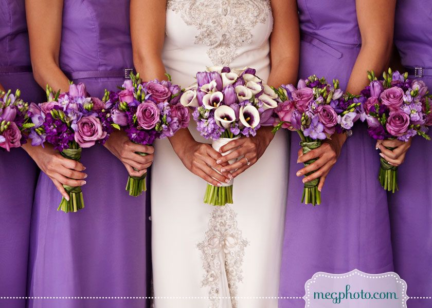 wedding flowers #purple #bouquets | My dream wedding | Pinterest ...