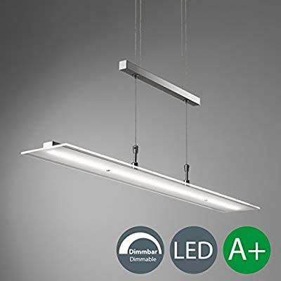 LED Pendelleuchte Dimmbar Stufenlos Höhenverstellbar Leuchte Inkl