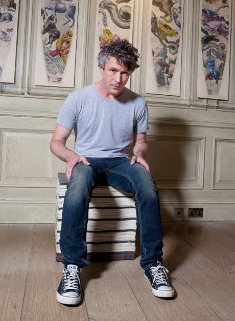 Aidan Gillen seems like an interesting guy, in a quietly humorous kind of way. I can relate.