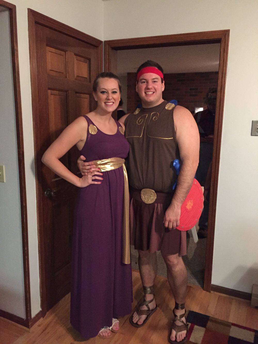 Hercules and Meg DIY costume | DIY crafts | Pinterest ...
