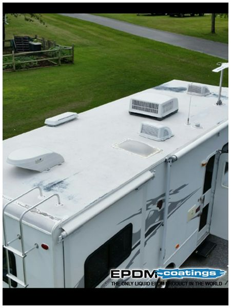 How To Fix The Rv Leaks The Right Way In 2020 Mobile Home Roof Metal Roof Leaks Leaking Roof