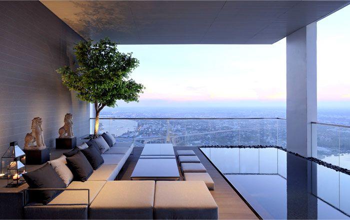 Designerlen München pano three floors penthouse residence three floor swimming