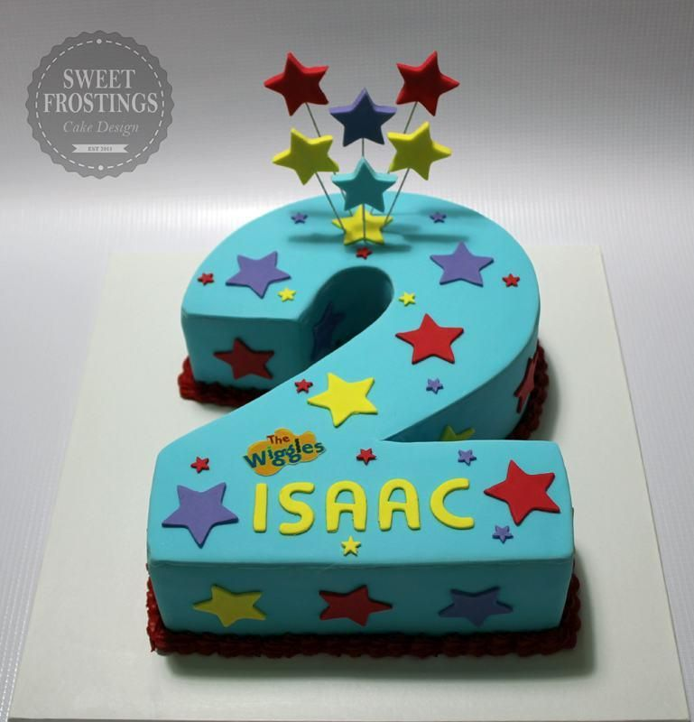 2nd Birthday Cake For Baby Boy The Cake Boutique