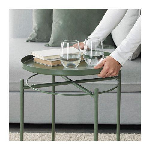 GLADOM Tray Table Dark Green