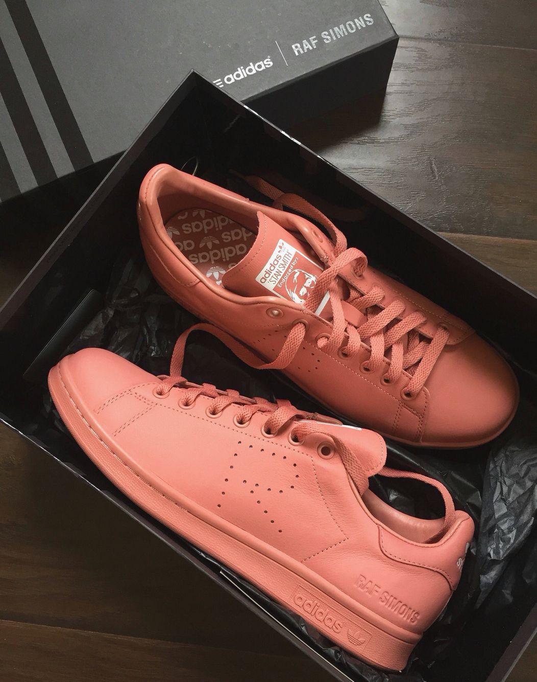 Raf Simons For Women Fw20 Collection Skate Wear Minimalist Sneakers Adidas Stan Smith