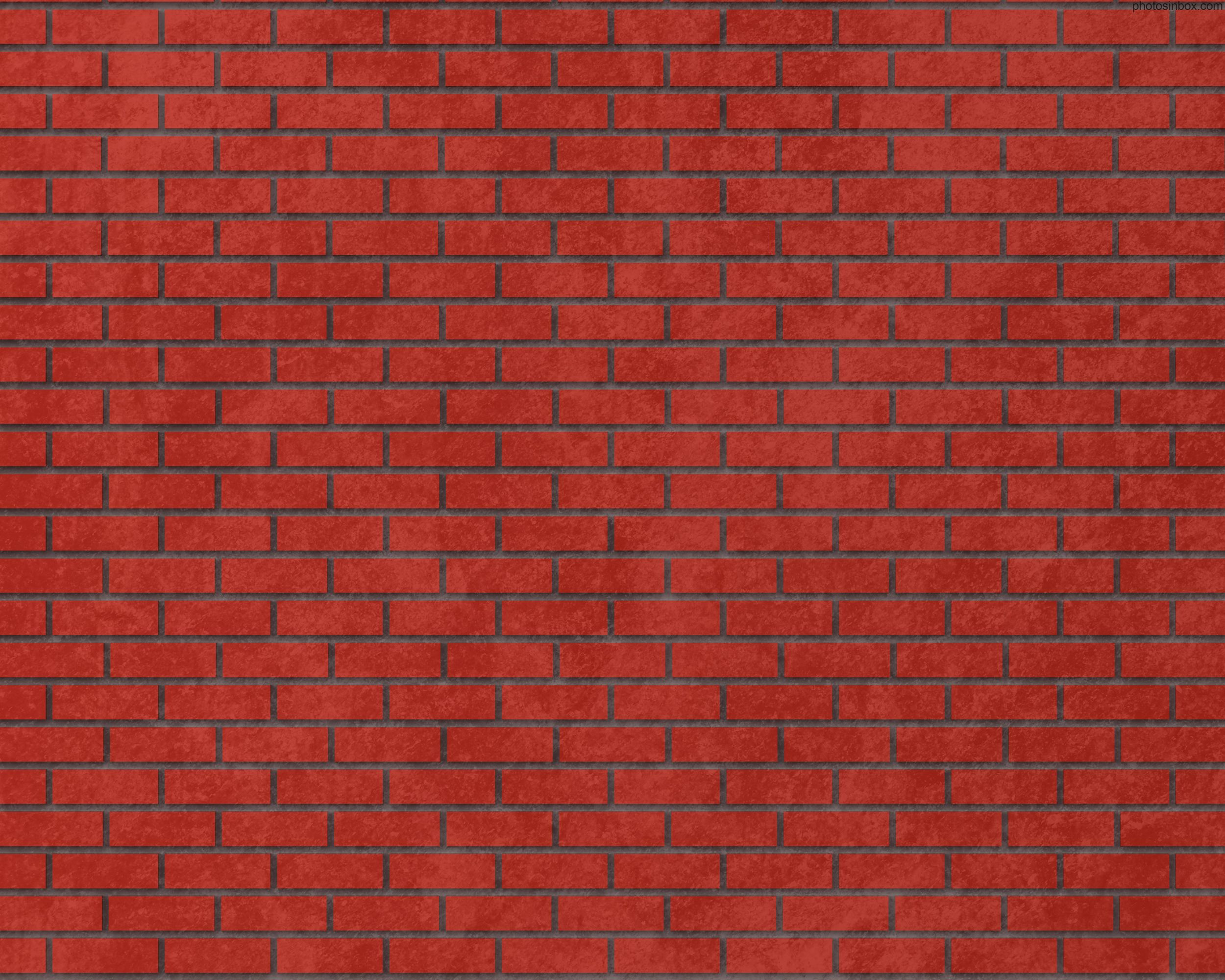 Red Brick Wall Texture Bricks Background
