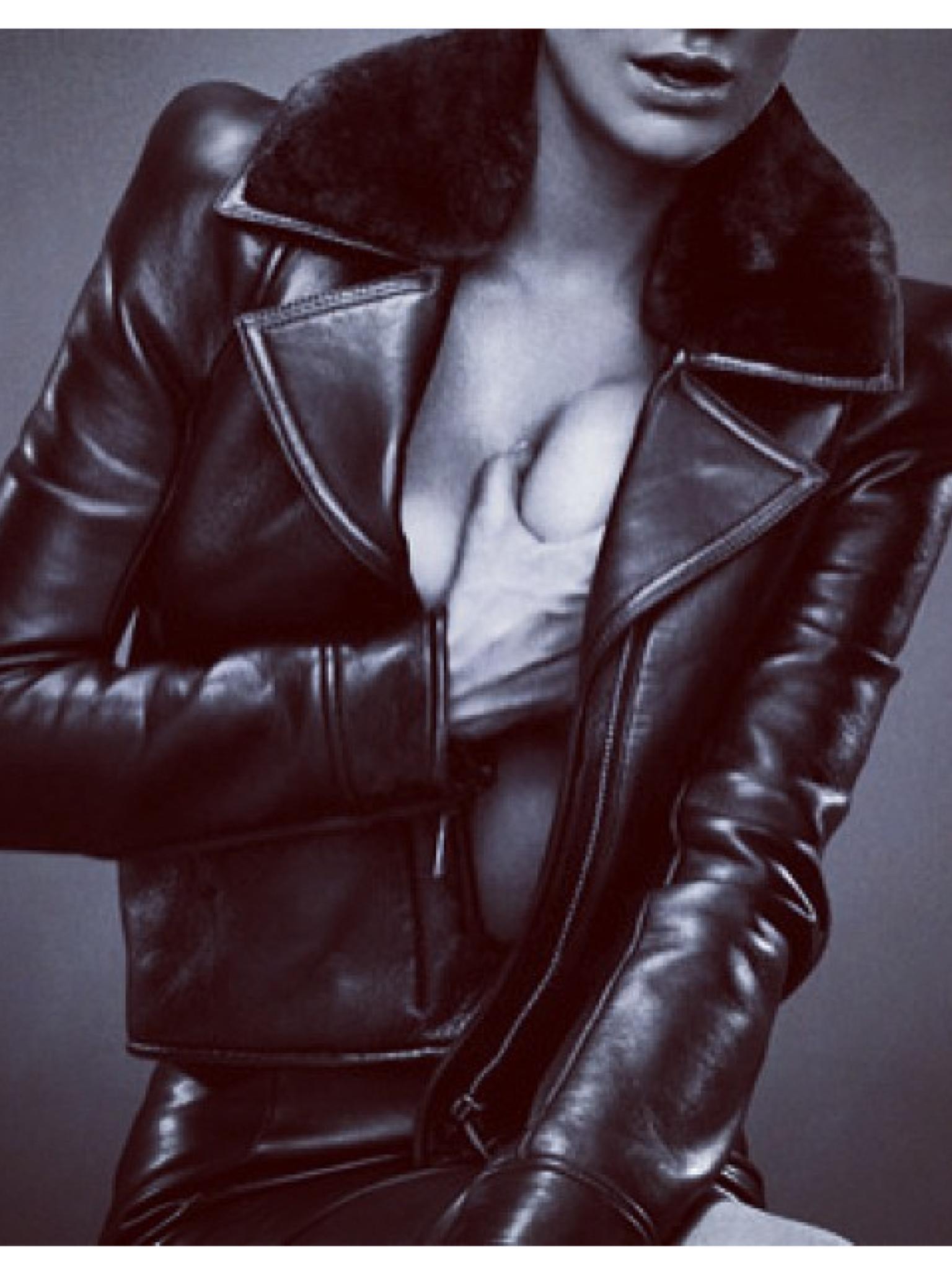 tom ford leather jacket women. Black Bedroom Furniture Sets. Home Design Ideas