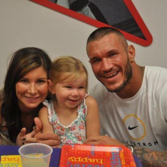 Randy Orton and your wife Samantha, & their daughter ...
