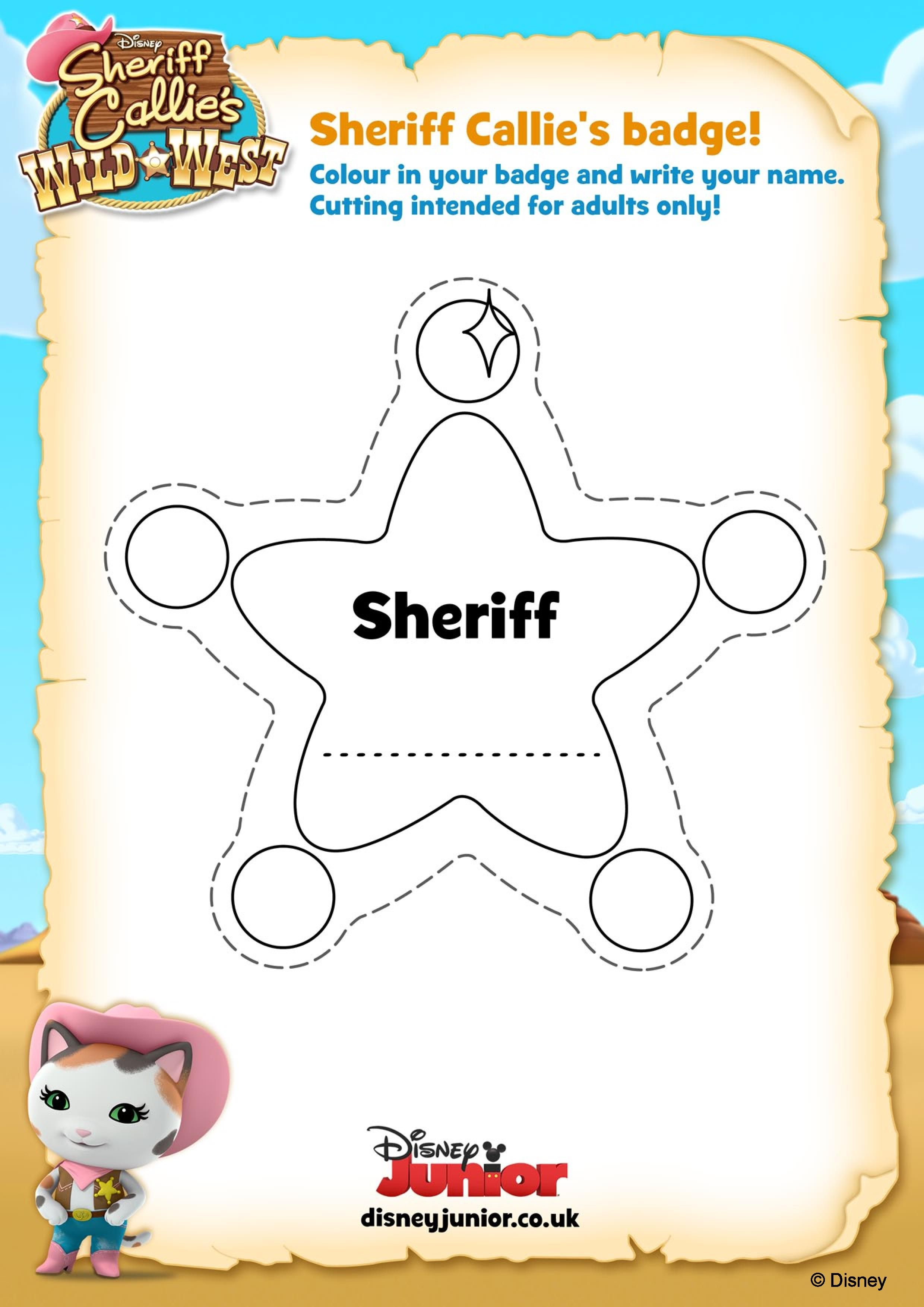 sheriff callie coloring pages - Google Search | Brinny ideas ...