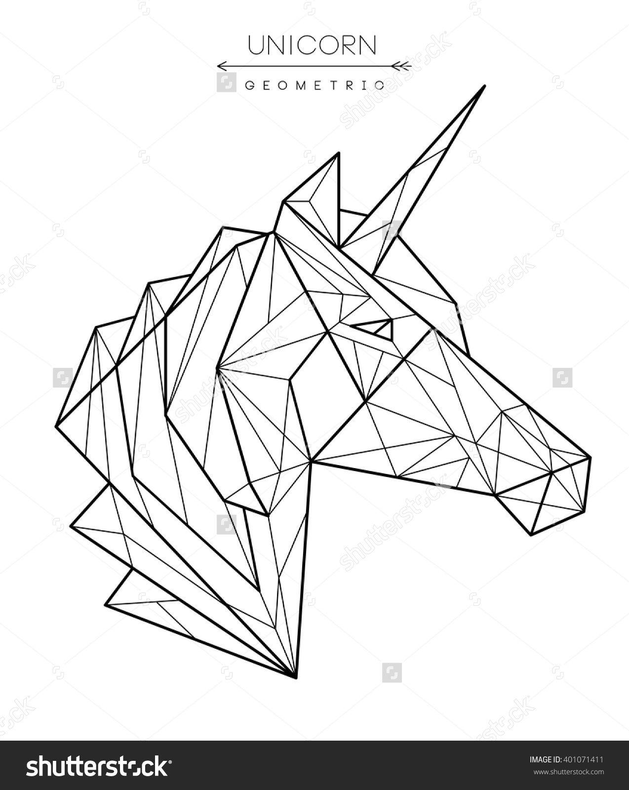 Risultati Immagini Per Geometric Unicorn