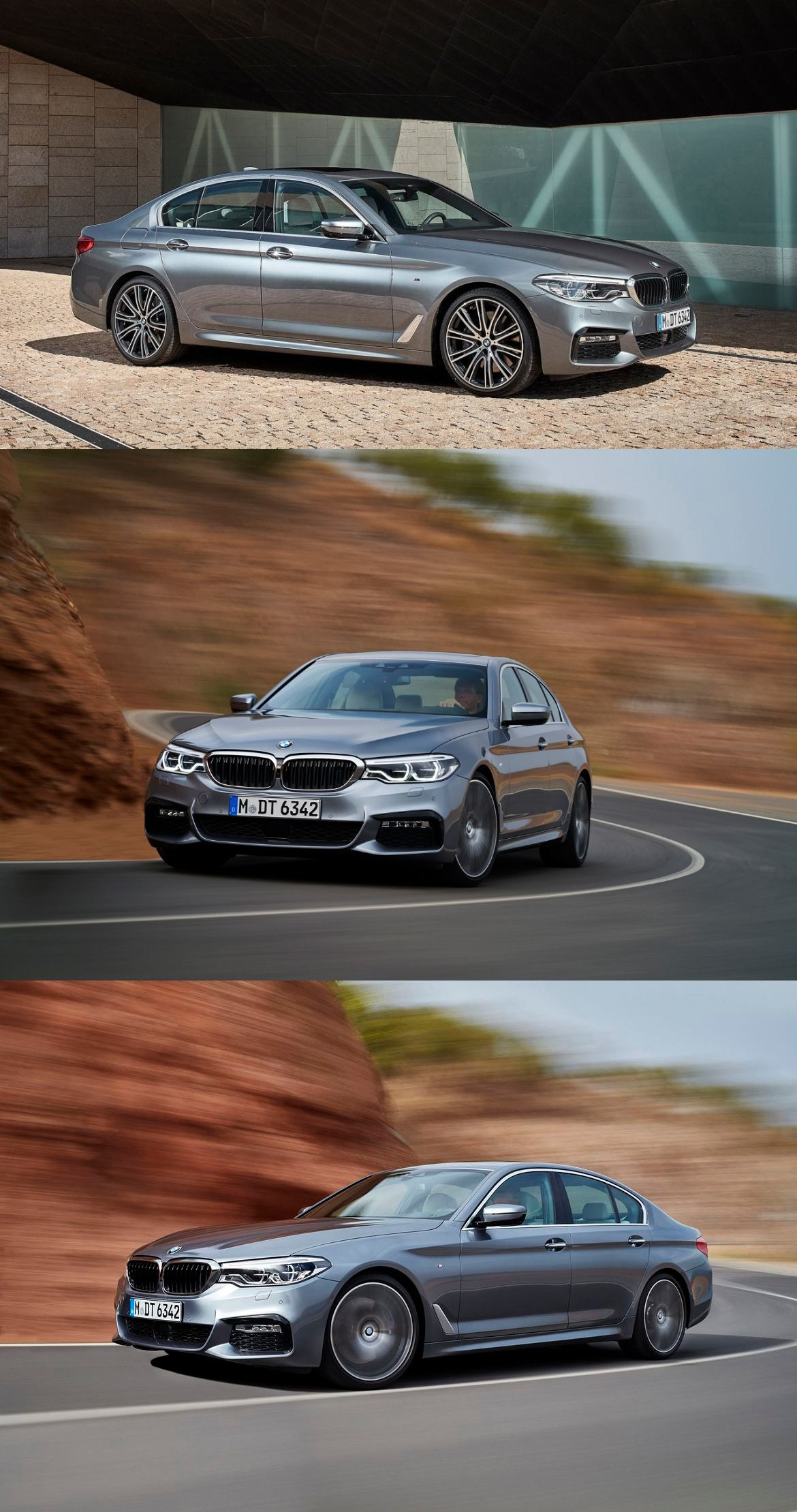 Next Gen 2017 Bmw 5 Series Imported To India For Testing