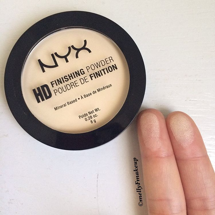 nyx finishing powder banana