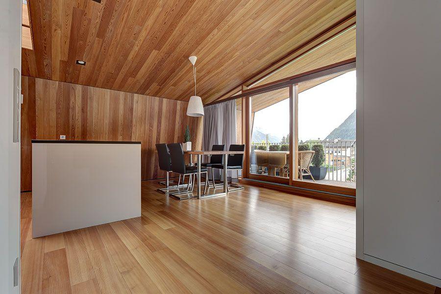 Larix Linea Novum, Holzboden Lärche astfrei, Diele, Parkett Larix - parkett für badezimmer