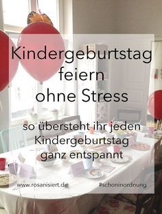 Photo of Stress-free children's birthday party – the best ideas for a relaxed celebration – pink