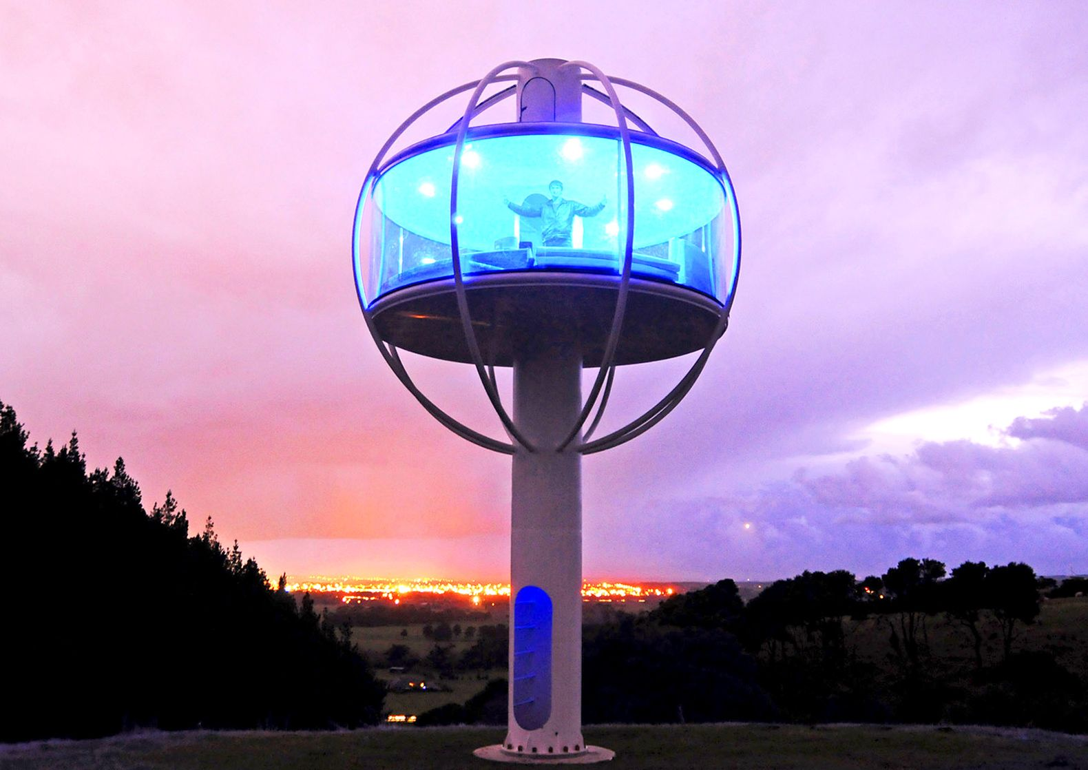 Insane Skysphere is a solarpowered man cave with voice